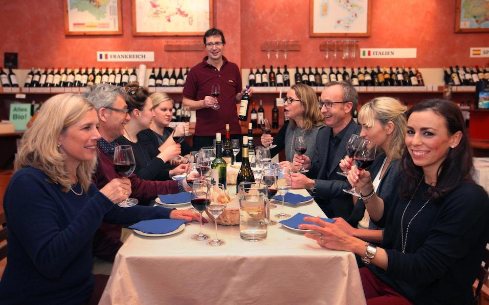 Weinseminar in Hamburg